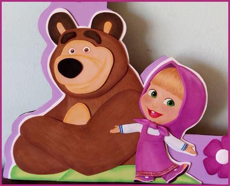 figuras en foami nombres foamy masha y el y moana bs 4 800 00 en mercado libre