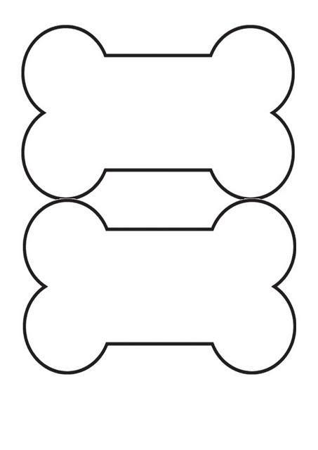 dog bone outline clipartsco