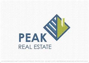Readymade Logos for Sale Peak Real Estate | Readymade ...