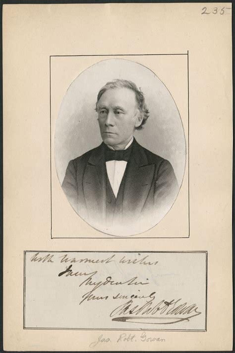 Biography – GOWAN, Sir JAMES ROBERT – Volume XIII (1901 ...
