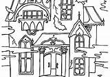 Coloring Haunted Mansion Scary Monster Eyes Tree Spooky Printables Printable Coloring4free Getdrawings Getcolorings Colorings sketch template
