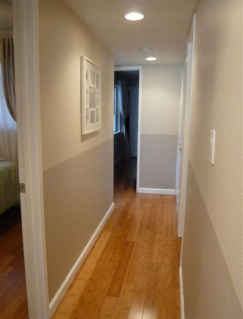 two tone hallway in 2019 home reno ideas two tone