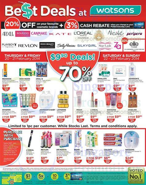 20 Percent Off Selected Cosmetic Brands, 990 Deals