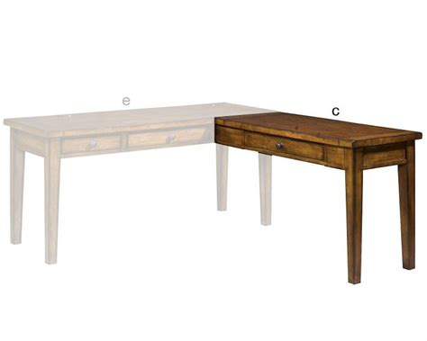 Aspen Home Desk Furniture by Aspen Furniture Desk Return Cross Country Asimr 3064r