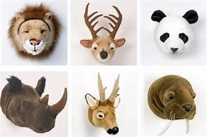 Trophée Animaux Carton : trophee animaux design maison design ~ Melissatoandfro.com Idées de Décoration