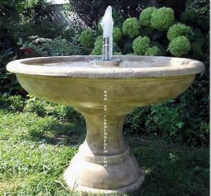 Fontaine A Eau Exterieur : fontaine exterieur en pierre de jardin jets d eau a au ~ Dailycaller-alerts.com Idées de Décoration