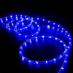 Light And Blue : 150 39 blue led rope light home outdoor christmas lighting wyz works ~ Bigdaddyawards.com Haus und Dekorationen