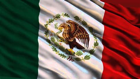Bandera de Mexico Ondeando 01 - YouTube