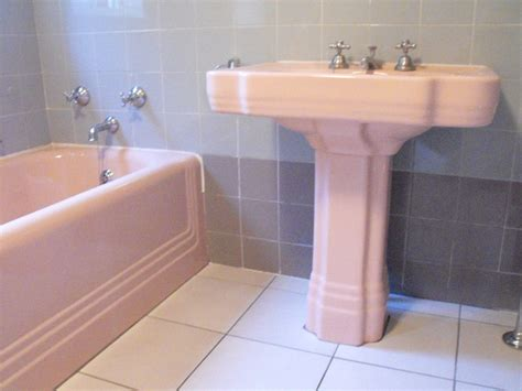 Colored Bathroom Suites by Pink Bathroom Sink For Sale Wj97 Roccommunity