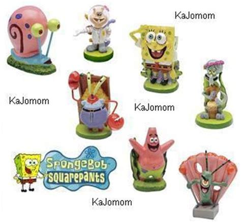spongebob fish tank accessories spongebob aquarium decorations ornaments your choice