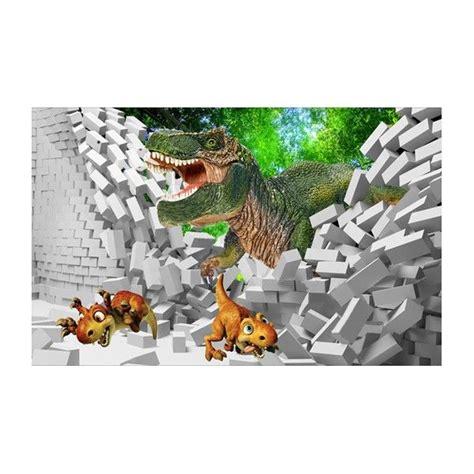 Tapisserie Dinosaure by Tapisserie Papier Peint 3d Poste G 233 Ant Mural Dinosaure