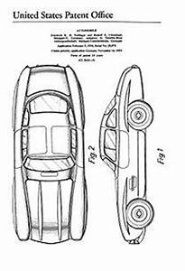 USA Patent Harley Davidson - V-Twin Engine Drawings ...