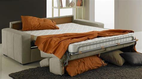 canapé lit pour couchage quotidien canapé lit 2 places microfibre direct usine italie