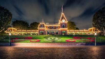 Disneyland 4k Disney Wallpapers Background Ultra Building