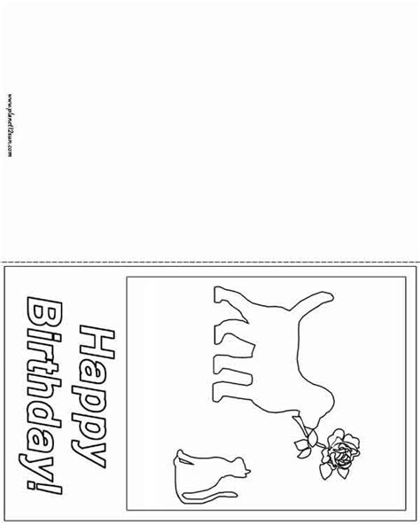 happy birthday card  images kids worksheets