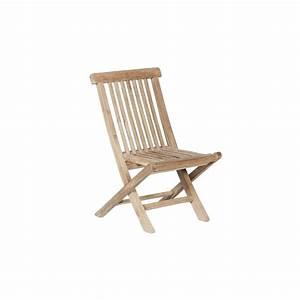 Chaise Jardin Bois : chaise de jardin enfant en teck pako teckandco ~ Teatrodelosmanantiales.com Idées de Décoration