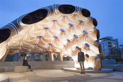 icditke research pavilion   architect magazine
