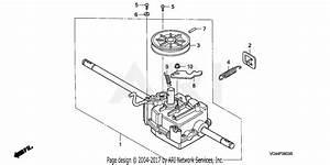Honda Hrr216k3 Tda Lawn Mower  Usa  Vin  Mzcg