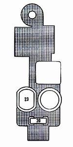Lexus Es250  1990 - 1991  - Fuse Box Diagram