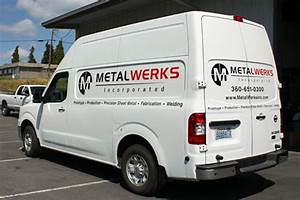 window vehicle lettering rpm signs arlington wa With van lettering