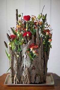 Deko Mit Gräsern : rinden blumen floristik pinterest blumen blumendeko und fr hling ~ Markanthonyermac.com Haus und Dekorationen