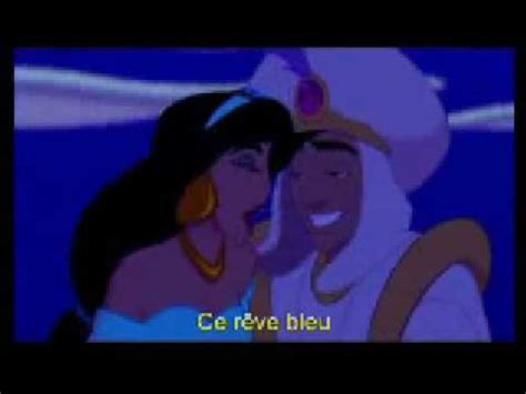Aladdin A whole new world in french (with french