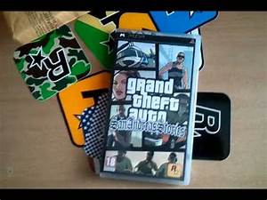 San Andreas Stories - PSP Unboxing - YouTube