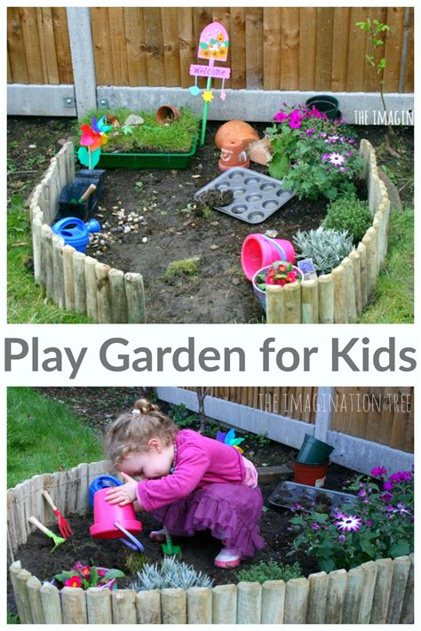 making  play garden kid activities kids outdoor play