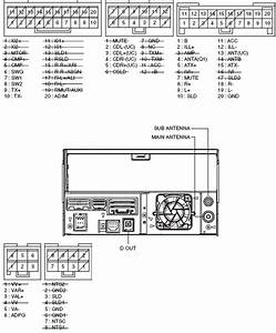 Lexus Car Radio Stereo Audio Wiring Diagram Autoradio Connector Wire Installation Schematic