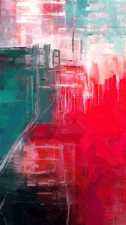 Abstract Paint Illust Iphone Diet Ai14 Plus