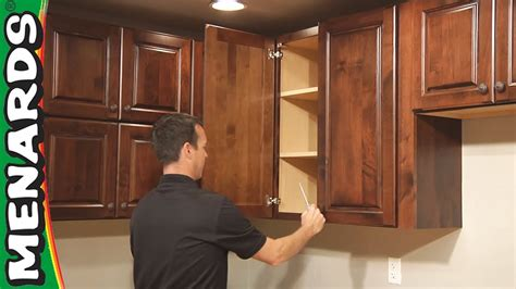 installing kitchen cabinets youtube kitchen cabinet installation how to menards youtube