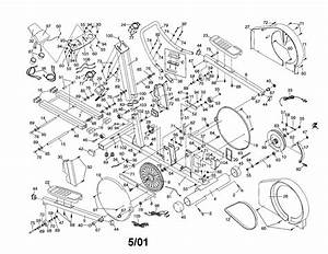 Healthrider Model Hrel11900 Elliptical Genuine Parts
