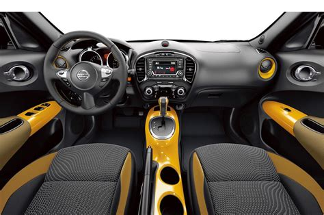 nissan juke interior black and yellow 2016 nissan juke stinger edition bows in l a