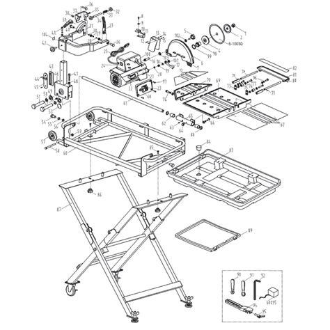 Qep Tile Cutter Spares by 61024 Qep Tile Saw Repair Parts Qepparts