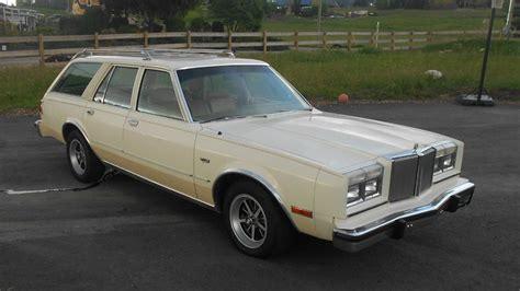 cheap classic  chrysler lebaron wagon