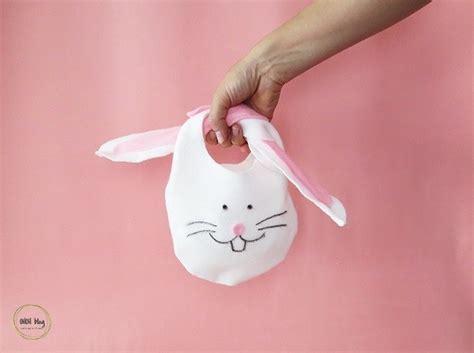 tutorial  sew felt easter bunny bag sewing