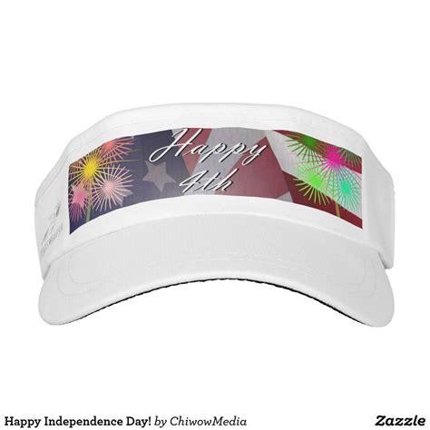 happy independence day visor zazzlecom modern design