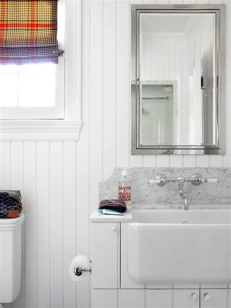 big ideas for small bathrooms white on white with available light is key