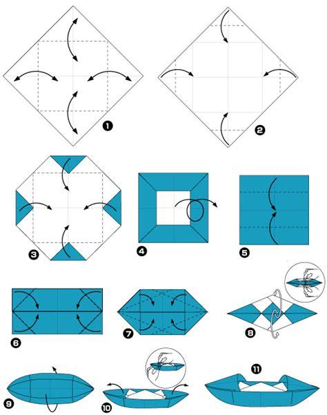 origami de bateau