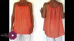 cours de couture top pour femme tuto de couture youtube With robe en coton pour femme