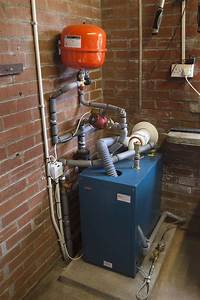 Water Boiler Heating System Diagram