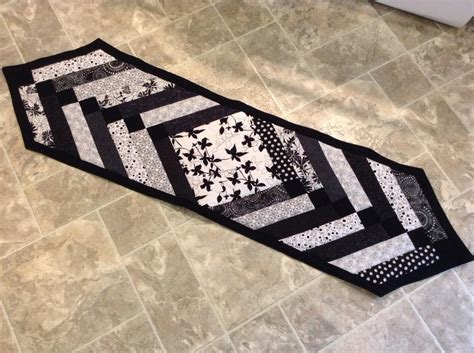 black and white table runners you have to see black white table runner on craftsy