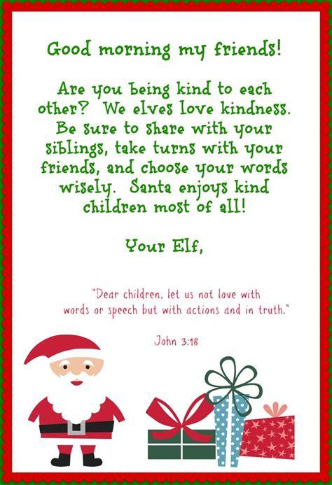 letter from elf on the shelf on the shelf printables that instill habits with 22851 | f4fccadadae093aeeb882205e7b7c3ca