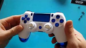 How To Change Your Ps4 Controller Shell  Touchpad Included