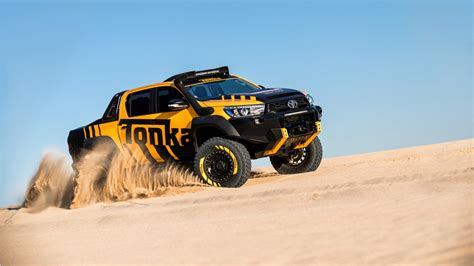 Toyota Hilux 4k Wallpapers by Toyota Hilux Tonka Concept Road Wallpaper Hd Car