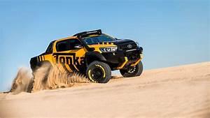 Toyota HiLux Tonka Concept Off road Wallpaper HD Car