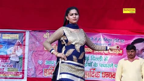 Sapna Chaudhary New Dance Sabne Hi Hot Laage Youtube