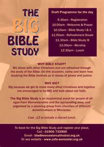 Young Adult Bible Study Flyer
