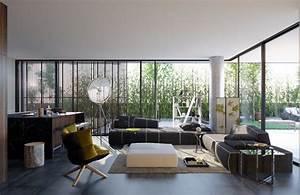 Deco Design Salon : d co salon design 50 int rieurs de salon modernes ~ Farleysfitness.com Idées de Décoration