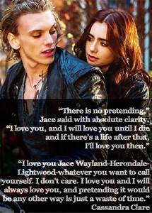 Lizz the Librarian: City of Bones Quotes - Jace and Clary ...